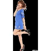 CECIL McBEE(セシルマクビー)刺しゅうカットワンピース - ワンピース・ドレス - ¥5,985
