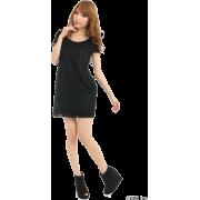 FREE'S MART(フリーズマート)レース重ねOP - 连衣裙 - ¥6,930  ~ ¥412.56