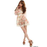 LIZ LISA(リズリサ)ローズ柄オフショルAラインワンピ - 连衣裙 - ¥9,345  ~ ¥556.34