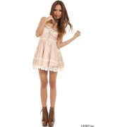 LIZ LISA(リズリサ)レースキャミワンピース - 连衣裙 - ¥6,195  ~ ¥368.81