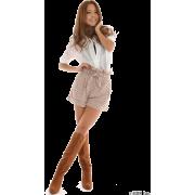MERCURYDUO(マーキュリーデュオ)Lタックスラッシュロングシャツ - 长袖衫/女式衬衫 - ¥9,975  ~ ¥593.84