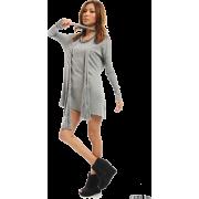 SLY(スライ)ストール付薄手ニットOP - 连衣裙 - ¥3,675  ~ ¥218.78