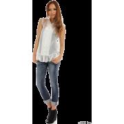 SLY(スライ)ノースリボウタイSH - 半袖衫/女式衬衫 - ¥6,825  ~ ¥406.31