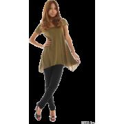 SLY(スライ)裾マチフレアT/SH OP - T恤 - ¥2,625  ~ ¥156.27
