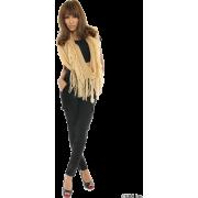 SLY(スライ)フリンジフープマフラー - 丝巾/围脖 - ¥5,040  ~ ¥300.05