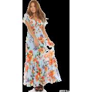 kitson(キットソン)【Joel green】大花スパンボイルマキシOP - ワンピース・ドレス - ¥14,490