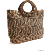 moussy(マウジー)エスニック柄WOOD BAG - 手提包 - ¥6,993  ~ ¥416.31