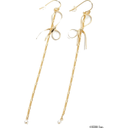 snidel(スナイデル)ラインモチーフピアス - Earrings - ¥2,940  ~ $26.12
