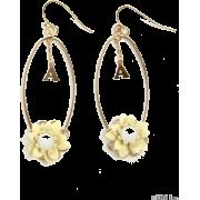 snidel(スナイデル)イニシャルフラワーピアス - Earrings - ¥2,940  ~ $26.12