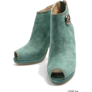 snidel(スナイデル)スウェードレトロブーティ - Boots - ¥18,900  ~ $167.93