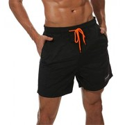 onlypuff Mens Swim Trunks Quick Dry Beach Shorts Drawstring Waist Surf Shorts - Swimsuit - $9.99