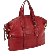 orYANY Cassie Convertible Tote Scarlet Red - Hand bag - $366.40