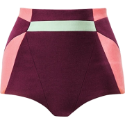 Pants Shorts Purple - Hlače - kratke -