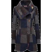 plaid coat1 - Jacket - coats -