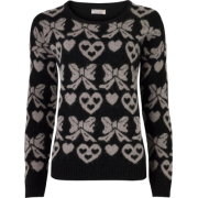 Pulover Pullovers Black - Puloveri -