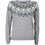 Pulover Pullovers Gray - Puloveri -