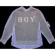 pushBUTTON - 半袖衫/女式衬衫 -