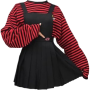 red and black outfit - Kombinezoni -
