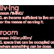 room - 插图用文字 -