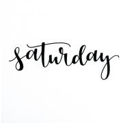 Saturday - Besedila -