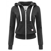 savoir faire Basic Zip-Up Hoodie - Shirts - $35.00