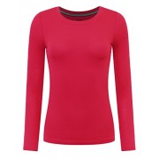 savoir faire Crew Neck Long Sleeve Top - Shirts - $13.00