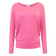 savoir faire Trendy Long Sleeve Dolman Top - Shirts - $23.99