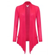 savoir faire Waterfall Drape Open Cardigan With Pocket - Shirts - $15.99