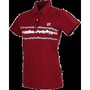 scratch - dk red - T恤 -