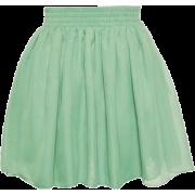Skirts Green - Suknje -