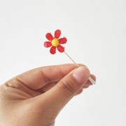 small flower brooch pin - My look - $7.99