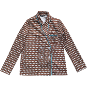 small suit retro wave point casual suit - Jacket - coats - $35.99