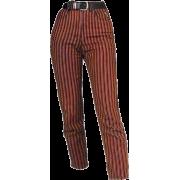 striped - Capri hlače -