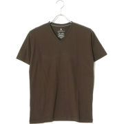 UNITED ARROWS green label relaxing MEN SUPIMA/C TAPE V/N Tシャツ - Tシャツ - ¥1,995