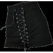 tie front skirt - Krila -