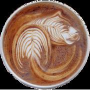 tiger coffee foam - Beverage -