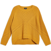 topshop Stitch Detail Jumper - Pullovers - $65.00