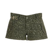 turn shorts - olive typo - Shorts -