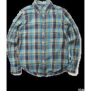 DOORS ツィルチェックB/Dシャツ - Camisa - longa - ¥8,925  ~ 68.11€