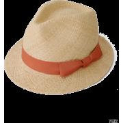 UR jujube リボンラフィアHAT - Hat - ¥6,195  ~ $55.04