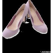 UR jujube フェイクスエードラウンドトゥパンプス - Shoes - ¥11,550  ~ $102.62