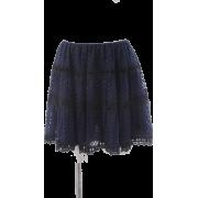 ドットチュールスカート - Skirts - ¥8,820  ~ $78.37