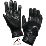 Cold Weather Leather Shooting Gloves - Gloves - $24.99