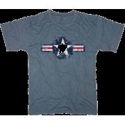 Rothco Vintage Army Air Corp Blue T-Shirt 66500 - Shirts - $10.49