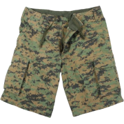 Rothco Vintage Woodland Digital Camo Cargo Shorts In Your Choice Of Size - Pants - $28.35