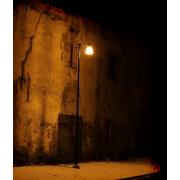 Street wall and lamp - Edifici -