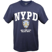 Unisex 6638 NYPD Officially Licensed T-Shirt By Rothco In Navy Blue - Shirts - $13.87