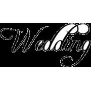 wedding - Tekstovi -