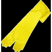 yelloe gloves - Gloves -