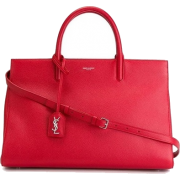 ysl red tote - Hand bag -